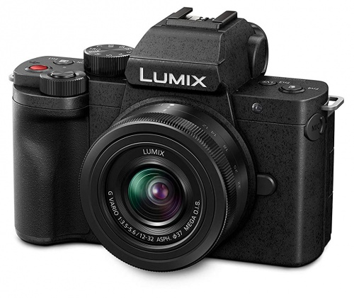 Panasonic Lumix DC-G100 | vista frontal
