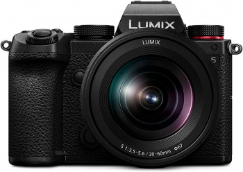 Panasonic Lumix DC-S5 | vista frontal